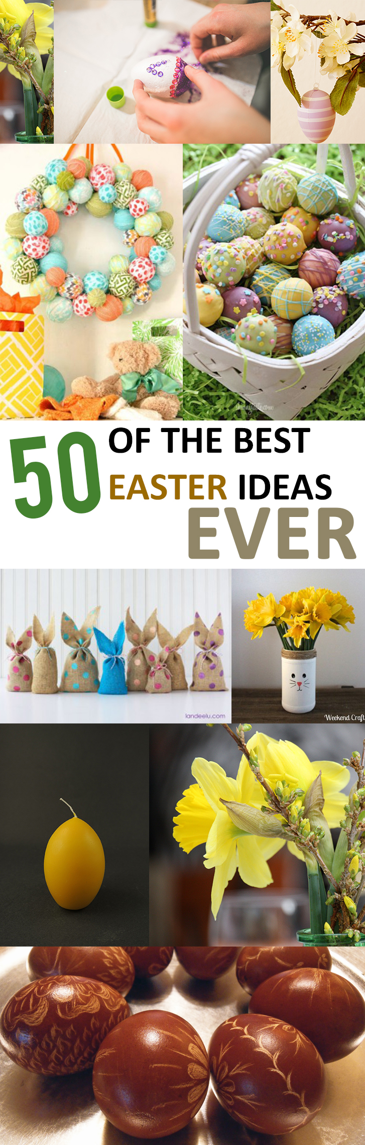 50 of the Best Easter Ideas Ever (1)