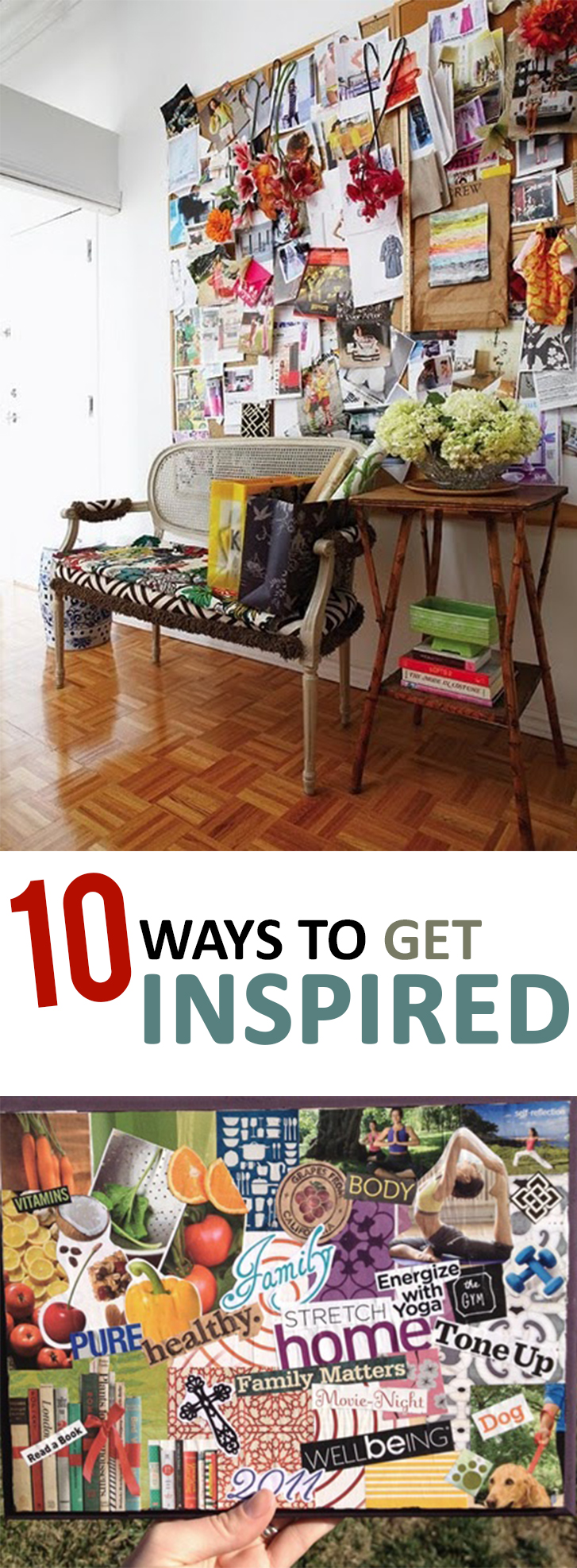 10 Ways to Get Inspired