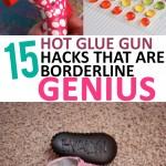 Hot glue gun hacks, crafting crafting hacks, DIY crafts, poplar pin, glue gun, genius hacks, DIY hacks.