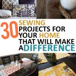 Crafting, crafting hacks, tutorials, home DIY, sewing hacks, repurpose projects, DIY tutorials, DIY home décor, home décor, cheap home décor, easy home improvement, Home That Will Make a Difference