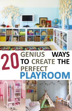 15 Genius Ways to Create the Perfect Playroom