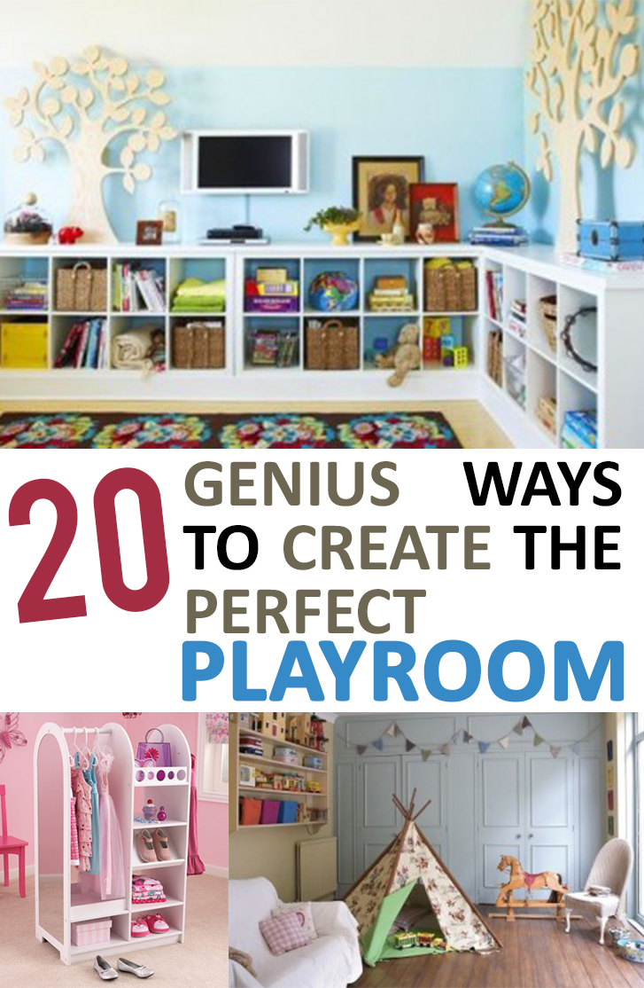 15 Genius Ways to Create the Perfect Playroom