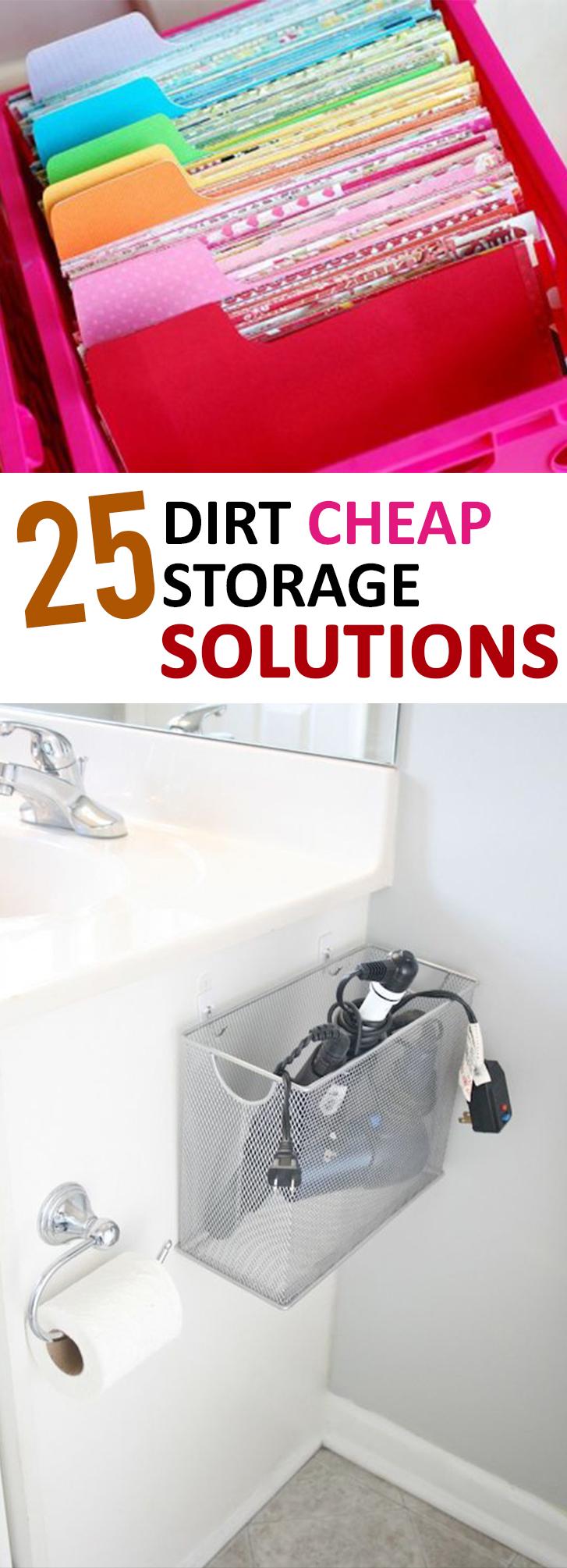 storage solutions, cheap storage ideas, DIY storage, DIY hacks, frugal organization, popular pin, organization hacks, storage ideas.