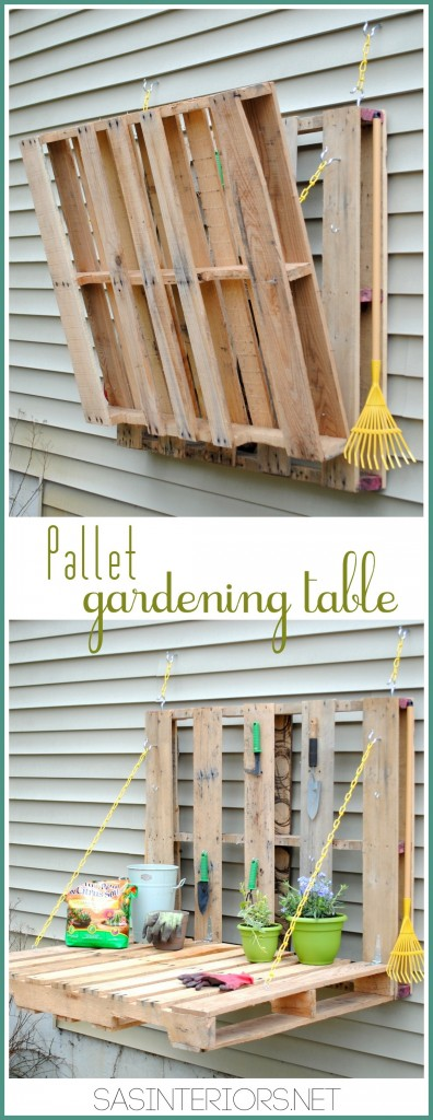 40 Ways to Turn a Pallet into Furniture