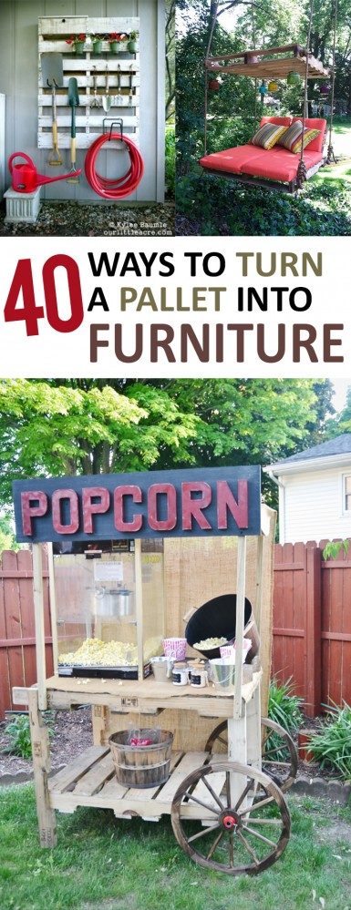 40 Ways to Turn a Pallet into Furniture (2)