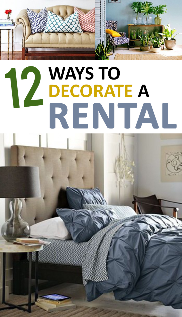 12 ways to decorate a rental - Rental apartment decorating ideas ...