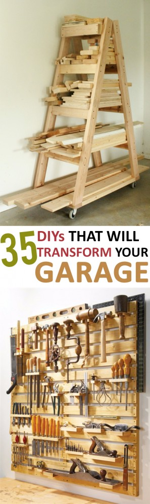 35 DIYs that Will Transform Your Garage