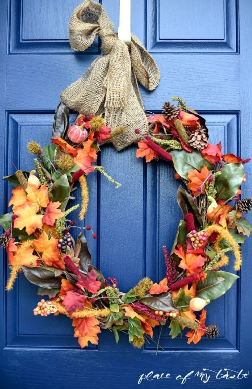 15 Ways to Decorate for Fall {From Dollar Tree}4