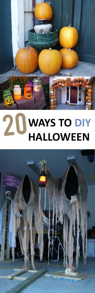 Halloween, DIY Halloween, spooky decorations, DIY Halloween decor, popular pin, fall holiday, fall decorations.