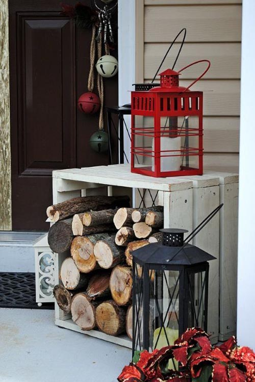 20 Ways to Decorate Your Porch for Christmas12