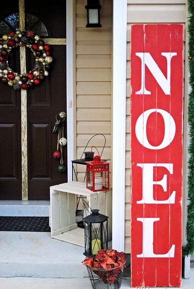 20 Ways to Decorate Your Porch for Christmas5