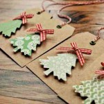 Christmas Gift Tags, DIY Christmas Gift Tag Ideas, DIY Christmas Gift Tags, Christmas Wrapping Paper Ideas, Christmas Gift Wrap, Easy Holiday Gift Wrapping Tips, Popular Pin