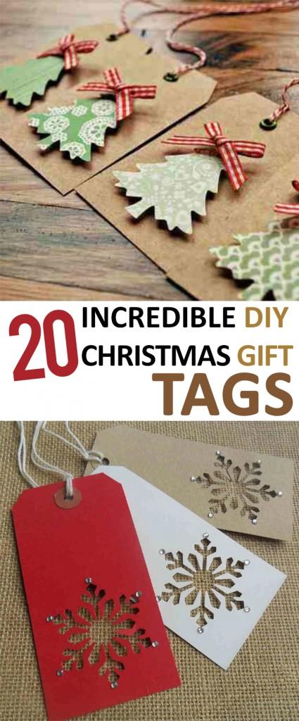 Christmas Gift Tags, DIY Christmas Gift Tag Ideas, DIY Christmas Gift Tags, Christmas Wrapping Paper Ideas, Christmas Gift Wrap, Easy Holiday Gift Wrapping Tips, Popular Pin