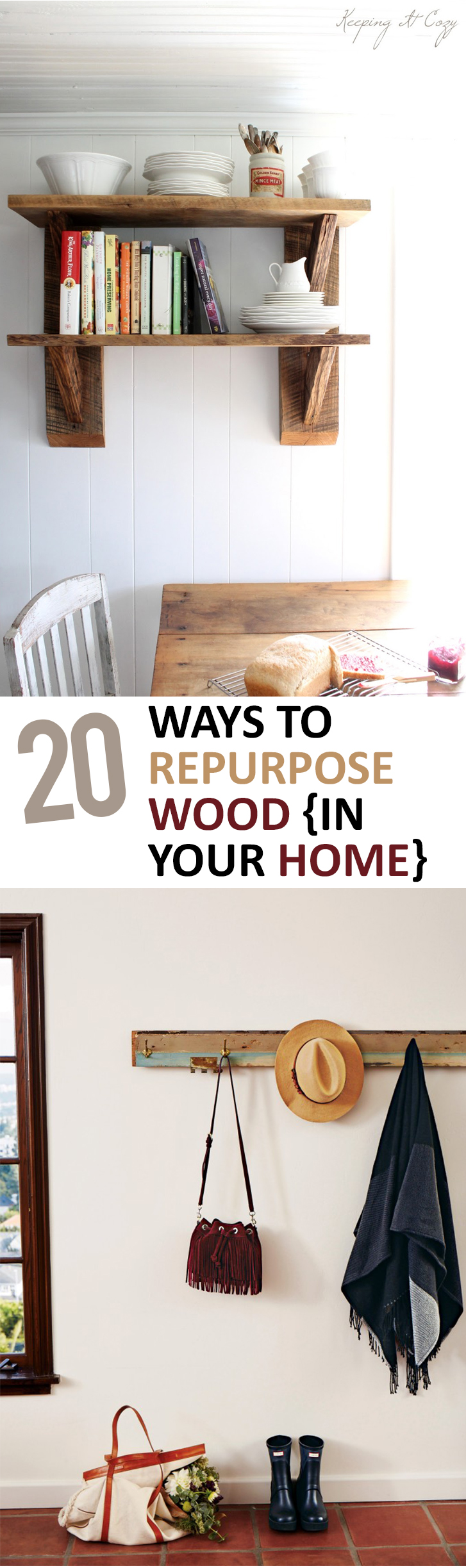 Repurpose projects, how to repurpose wood, wood hacks, DIY hacks, DIY home decor, popular pin, home decor projects, interior design.