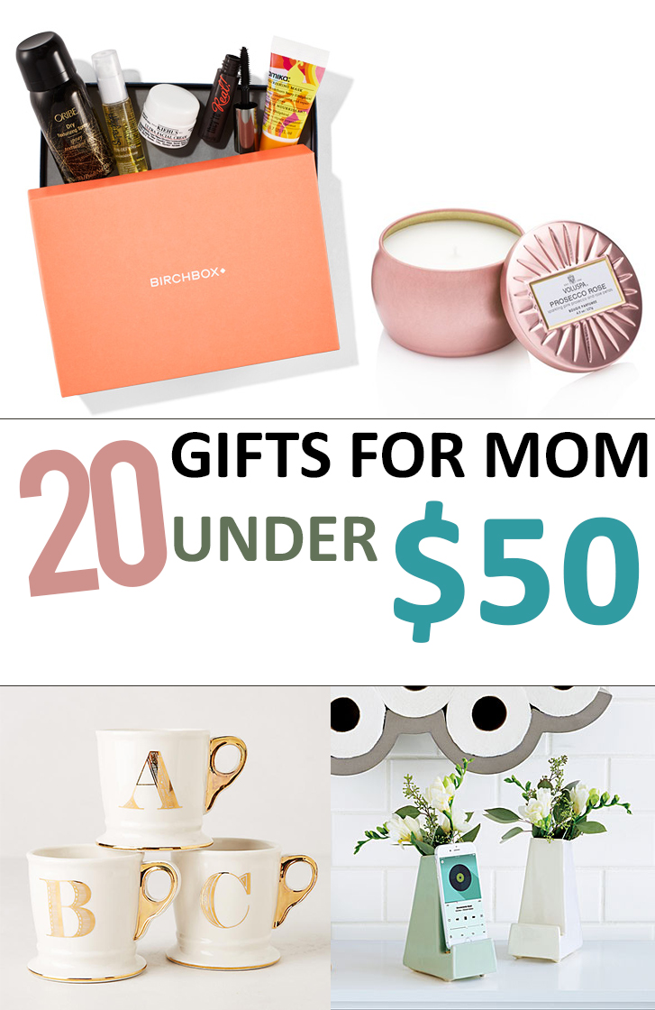 20 gifts for mom under 50