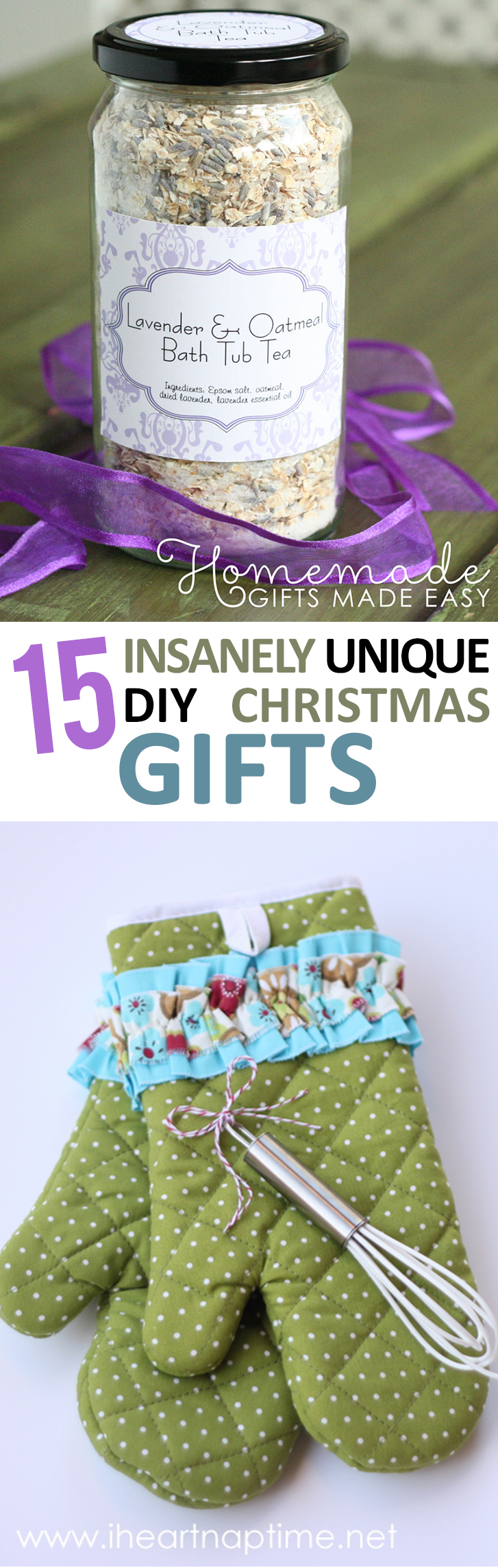 15 insanely unique diy christmas gifts page 17 of 17 for Unique ideas for christmas gifts