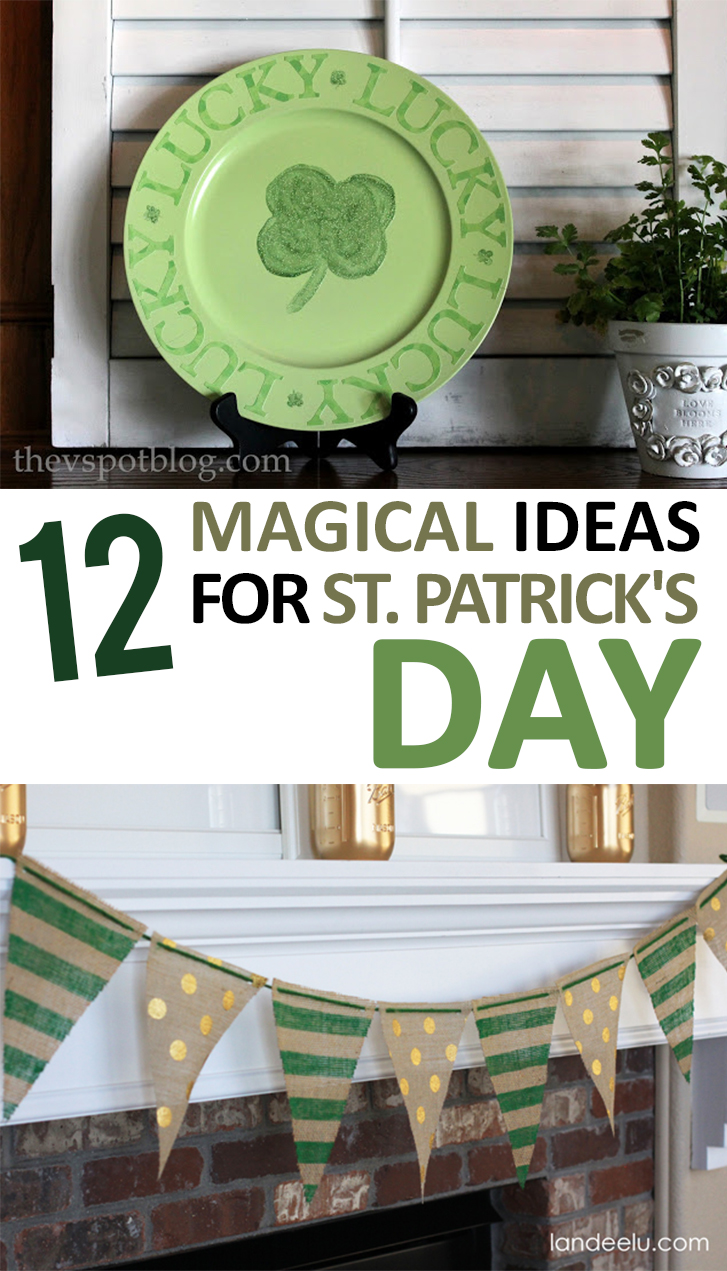 12 magical ideas for st patrick 39 s day for Decor st