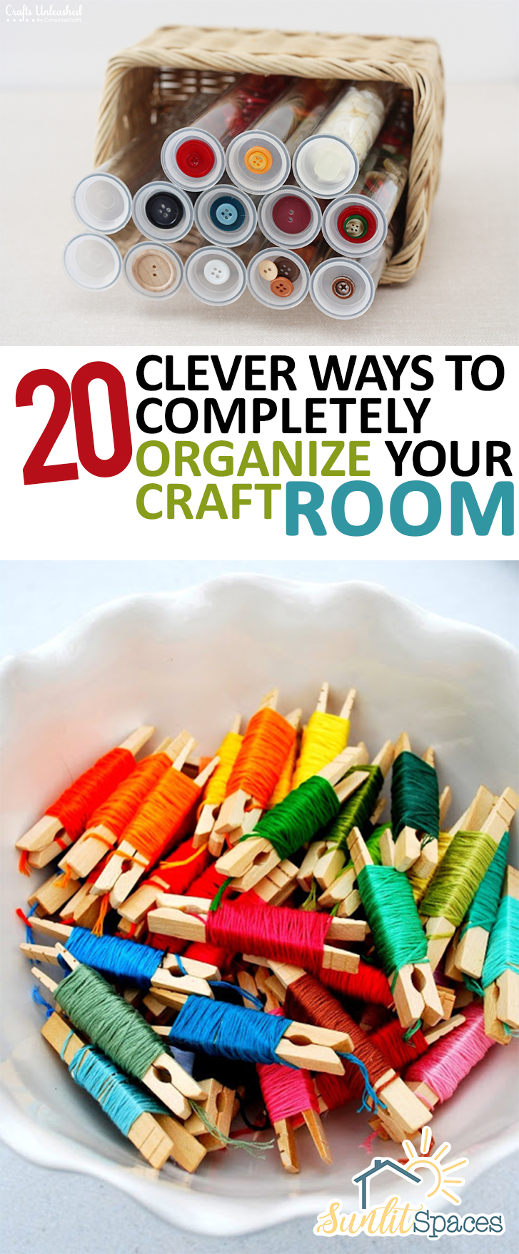 How to Organize Your Craft Room, Craft Room Organization, Craft Room Organization Ideas, Organization Ideas for the Home, Craft Room, Dream Craft Room, Organization, Home Organization, Popular Pin