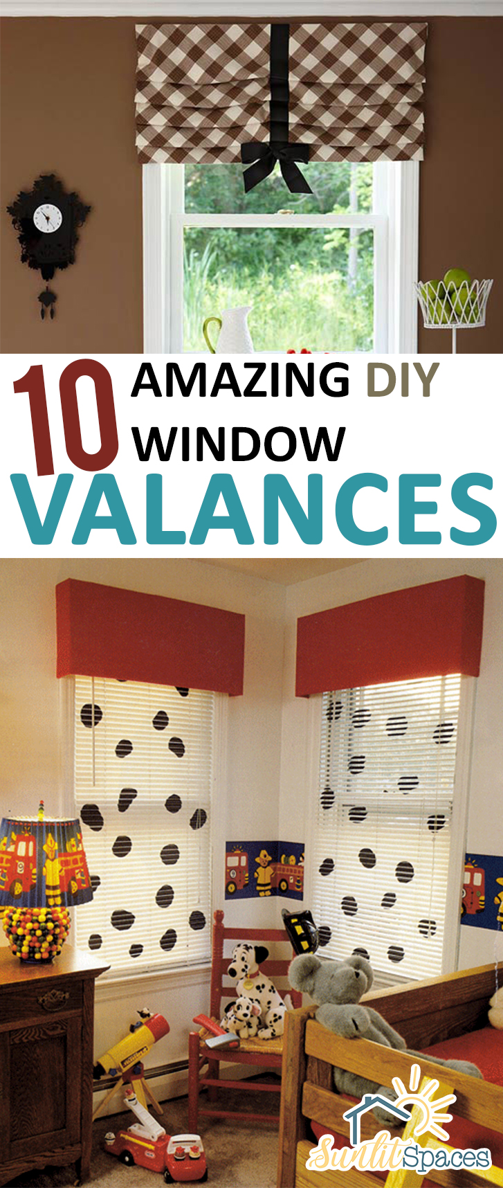 Homemade Valances For Windows : Amazing diy window valances