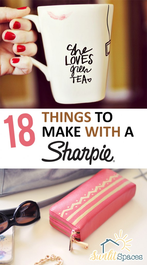 Crafts, Sharpie Crafts, Things to Do With A Sharpie, Sharpie Crafts, Easy Things to Do With a Sharpie, Craft Ideas, Easy Craft Ideas, Simple Craft Ideas, Crafts to Do With Sharpies, How to Decorate With Sharpies, Popular Pin