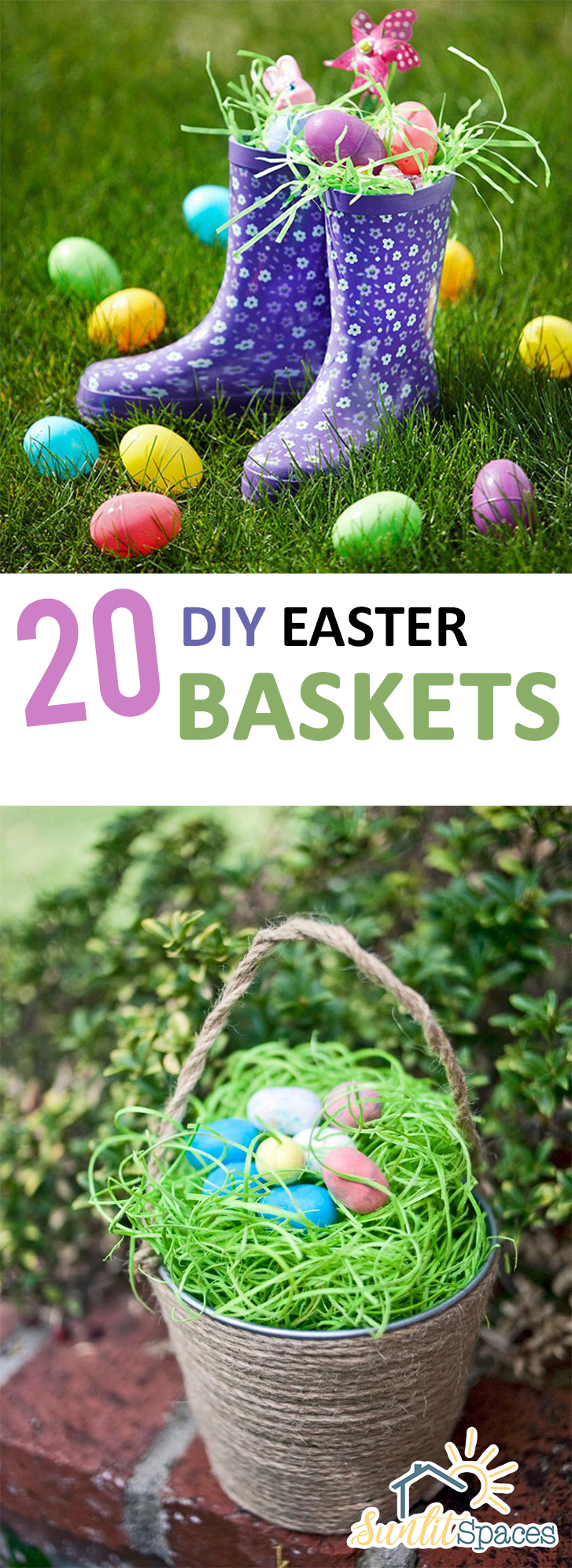 Easter Baskets, Homemade Easter Baskets, Easter Baskets, Easter, Easter Baskets for Less, Cheap Easter Baskets, Easter Gifts, Easter Gifts for Cheap, Cheap Easter Baskets, Popular Pin