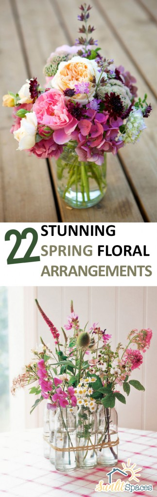 Spring, Spring Floral Arrangements, Floral Arrangements for Spring, Spring Decor, Home Decor for Spring, Spring Decor, DIY Spring Decor, How to Arrange Flowers, DIY Flower Arrangements, Flower Arrangement TIps and Tricks, Popular Pin