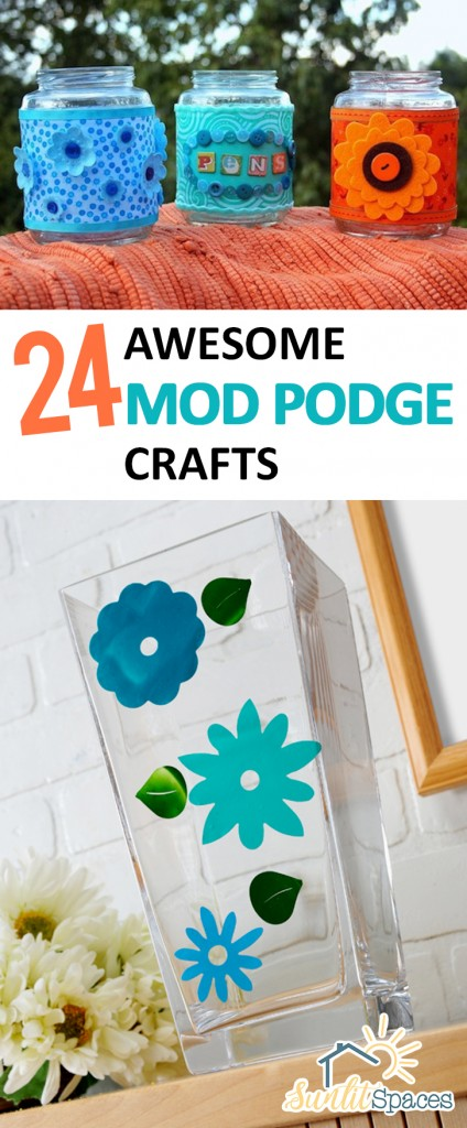 Crafts, Mod Podge Crafts, Things to Do With Mod Podge, Crafting, Easy Crafting Tips, Crafting Tips and Tricks, Easy Craft Projects, Craft Projects for Kids, Popular Pin