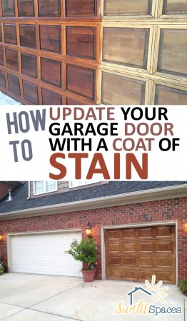 How to Update Your Garage Door, Easy Home Remodels, Easy Curb Appeal Projects, DIY Curb Appeal Projects, Garage Door DIYs, How to Paint Your Garage Door, How to Easily Paint Your Garage Door, Popular Pin