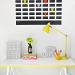 11 Quick and Easy DIY Wall Calendar Projects- Wall Calendar, DIY Wall Calendar Projects, Organization, Home Organization Projects, Calendars, Do It Yourself Projects, Fast Do It Yourself Projects