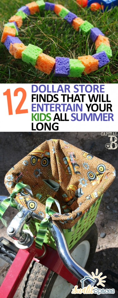 12 Dollar Store Finds That Will Entertain Your Kids All Summer Long| Summer, Summer Activities, Summer Crafts for Kids, Craft Hacks, Summer Tips and Tricks, Kid Stuff