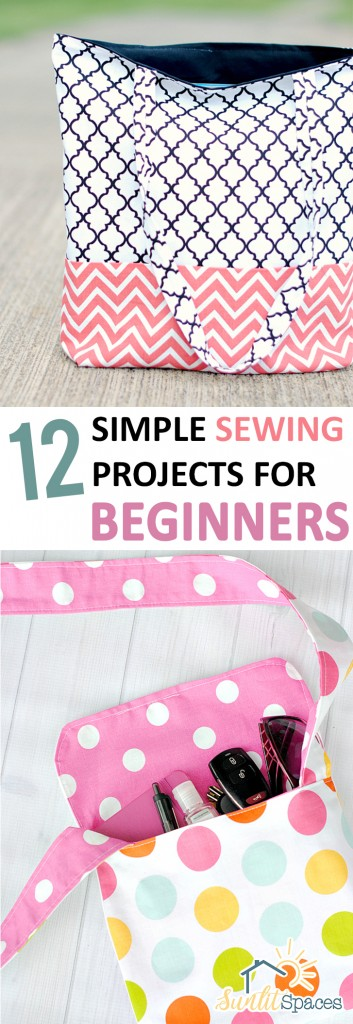 12 Simple Sewing Projects for Beginners