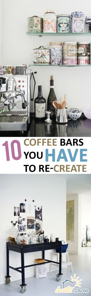 PIN 10 Coffee Bars You HAVE to Re-Create