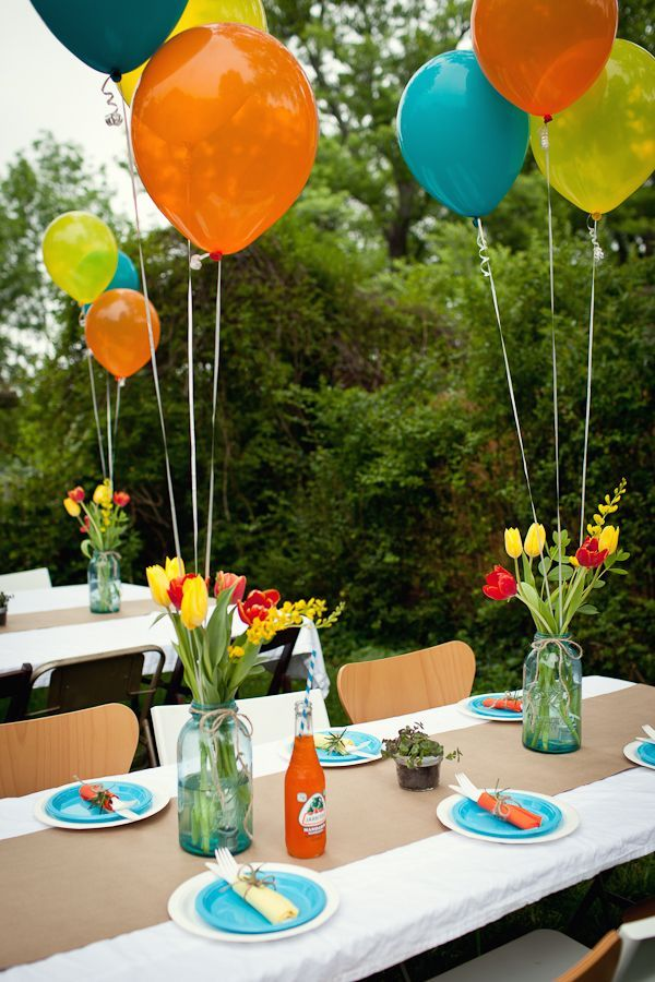 8 Ideas for an Outdoor Birthday Party