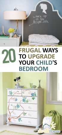 20 Frugal Ways to Upgrade Your Child's Bedroom| How to Upgrade Your Childs Bedroom, Home Upgrades, Bedroom Upgrades, How to Upgrade Your Childs Bedroom, Bedroom Upgrades, Popular Pin