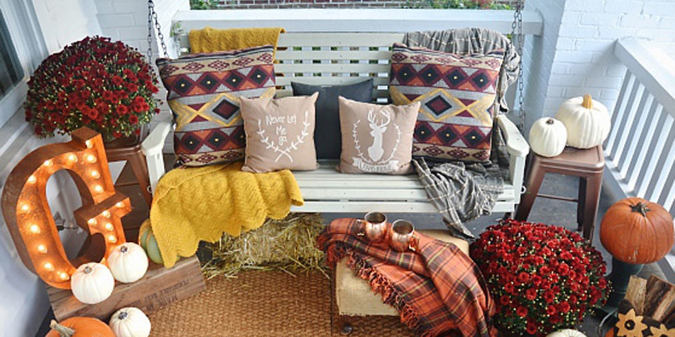 How To Decorate Your Porch (Easily!) For Fall Part 50