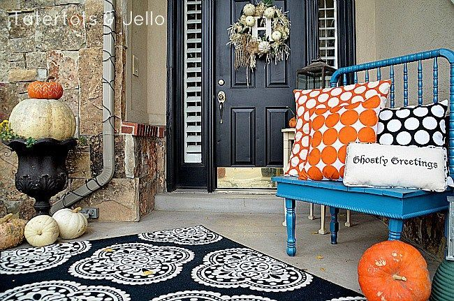 How to decorate your porch easily for fall How to decorate your front porch for fall