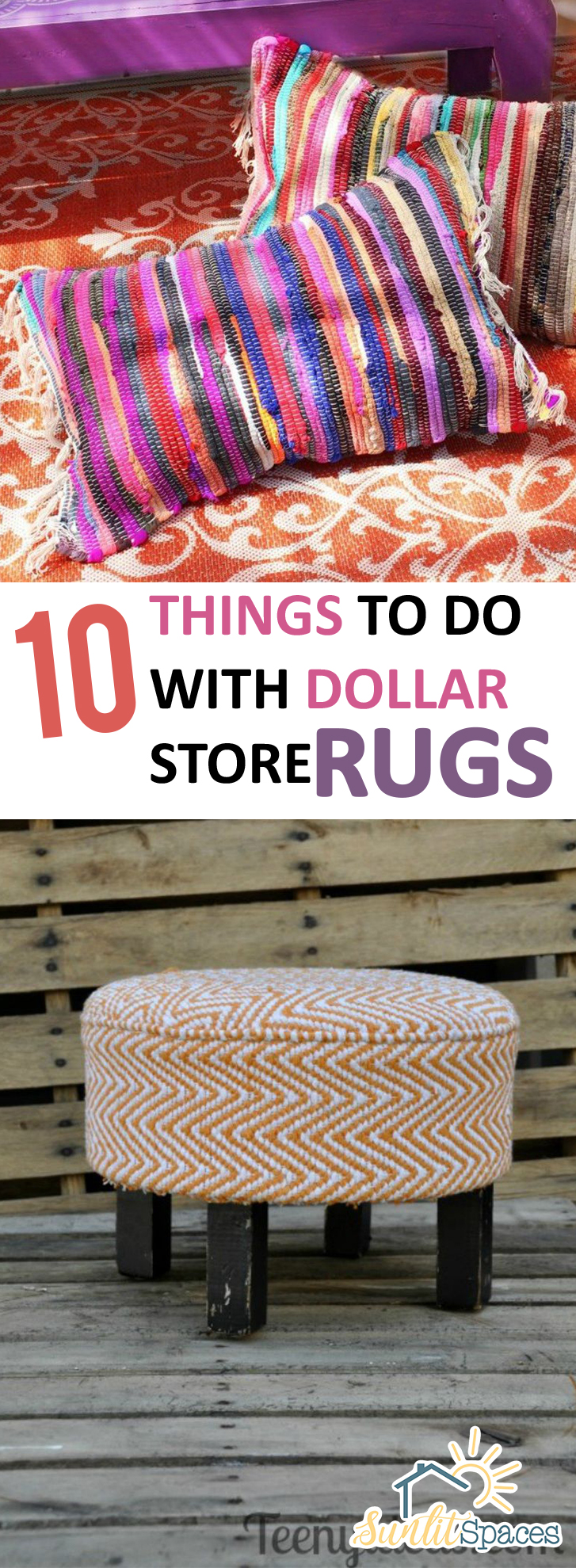 Dollar Rugs Rug Projects How To Use