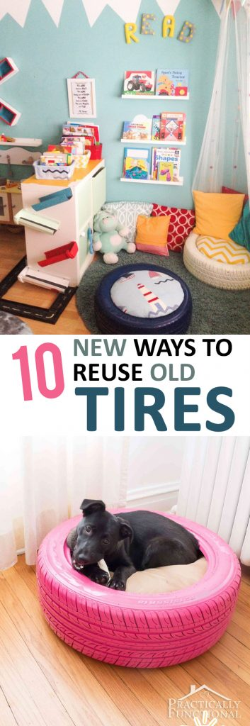 How to Reuse Old Tires, Simple Ways to Reuse Old Tires, Old Tire Crafts, How to Repurpose Old Tires, Simple Ways to Reuse Old Tires, Popular Pin