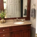 How to Frame Your Bathroom Mirror in Practically No Time| Frame Your Bathroom Mirror, Bathroom Updates, How to Update Your Bathroom Fast, Easy Ways to Frame Your Bathroom Mirror, Easy Bathroom Updates, Popular Pin