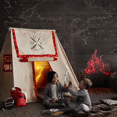 10 Wild Ideas for an Indoor Camping Party| Camping Parties, Ideas for Camping Parties, Camping Party Ideas, Birthday Party Ideas, Camping Birthday Party Ideas, Popular Pin