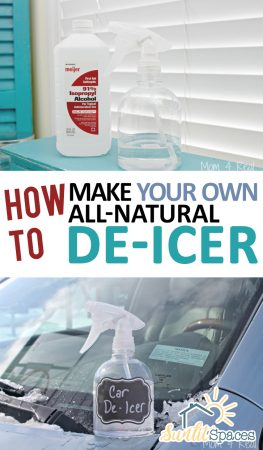 How to Make Your Own All-Natural De-Icer| Natural Products, DIY Products, De-Icer, How to Make De-Icer, Homemade Products, Homemade De-Icer #HomemadeProducts #DIYProducts