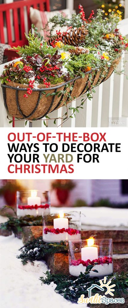 Out Of The Box Ways To Decorate Your Yard For Christmas