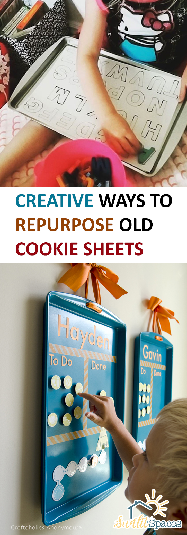 Creative Ways to Repurpose Old Cookie Sheets| Cookie Sheets, Cookie Sheet Uses, How to Use Cookie Sheets, Repurpose Cookie Sheets, How to Repurpose Cookie Sheets, Popular Pin #CookieSheets #RepurposeProjects