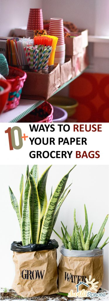 10 Ways To Reuse Your Paper Grocery Bags