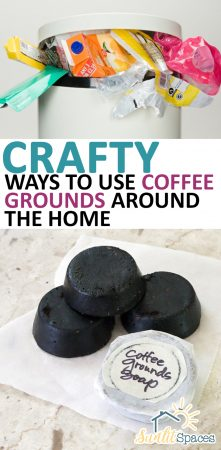 Crafty Ways to Use Coffee Grounds Around the Home| Coffee Grounds, Coffee Ground Hacks, Uses for Coffee Grounds, Terrific Ways to Use Coffee Grounds, Home Hacks, DIY Home Hacks, Easy Home Hacks, Popular Pin #CoffeeGrounds #Coffee #UsesforCoffee