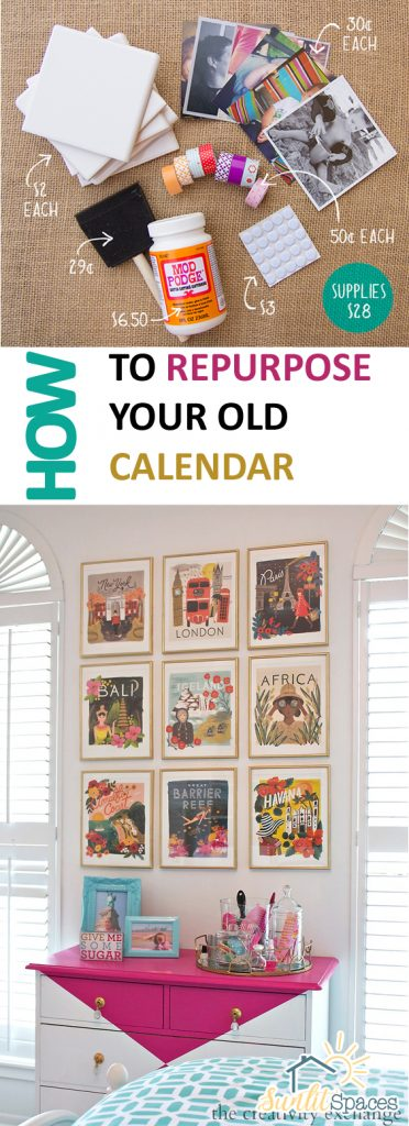 How to Repurpose Your Old Calendar| Repurpose, DIY Repurpose Projects, Repurpose Your Calendar, How to Repurpose An Old Calendar, Easy Repurpose, DIY Repurpose Projects, SImple Repurpose Projects, DIY Calendar, DIY Calendar Projects, Popular, Crafts, DIY Crafts #Repurpose #Crafts