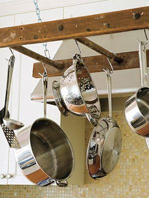 6 Super Easy DIY Hanging Pot Racks| Pot Racks, Pot Racks Hanging, DIy Hanging Pot Racks, DIY Home Decor, DIY Crafts, DIY Room Decor #PotRacks #PotRacksHanging #HangingPotRacks