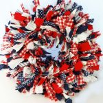 8 Easy-Peasy DIY Fabric Scrap Wreaths| Fabric Scraps Ideas, Fabric Scrap Projects, Fabric Scraps, Fabric Scrap Projects No Sew, DIY Wreath, DIY Wreath Front Door #FabricScrapsIdeas #FabricScrapsProjects #FabricScraps #DIYWreathFrontDoor