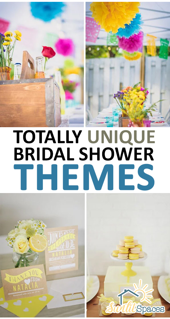 cool wedding themes totally unique bridal shower themes 27860