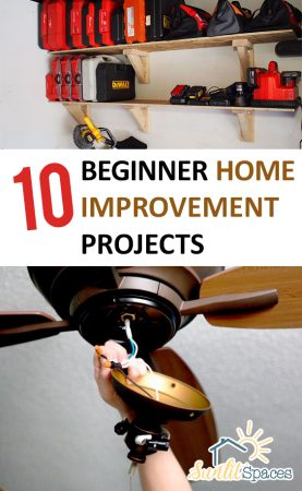 10 Beginner Home Improvement Projects| Home Improvement DIY, Home Improvement Ideas, Home Improvement for Beginners, Easy Home Improvement Ideas, DIY Home Decor, DIY Home Decor Ideas